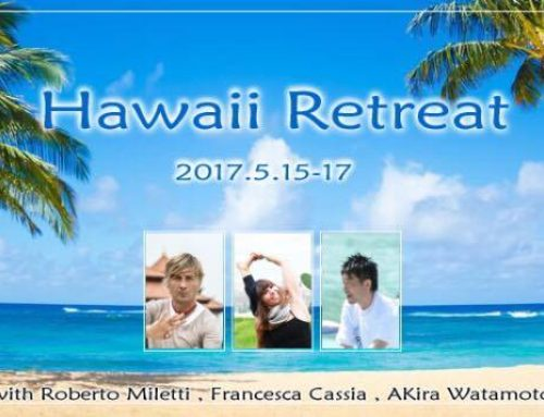 Hawaii Awareness Yoga festival and retreat in collaboration with Akira Sensei