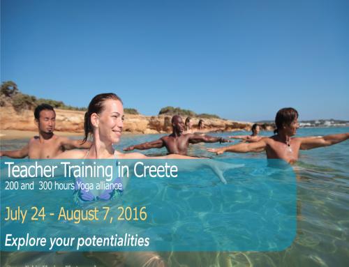 Intensive Teachear Traning Creete 2016 | Enroll now!