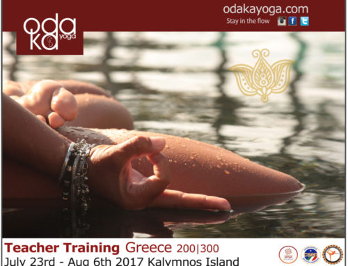 Intensive Teacher Training on the shore of the stunning Greek sea