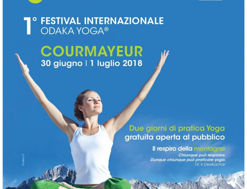 Yogaland by Odaka | Courmayeur june 30th – 1th july 2018